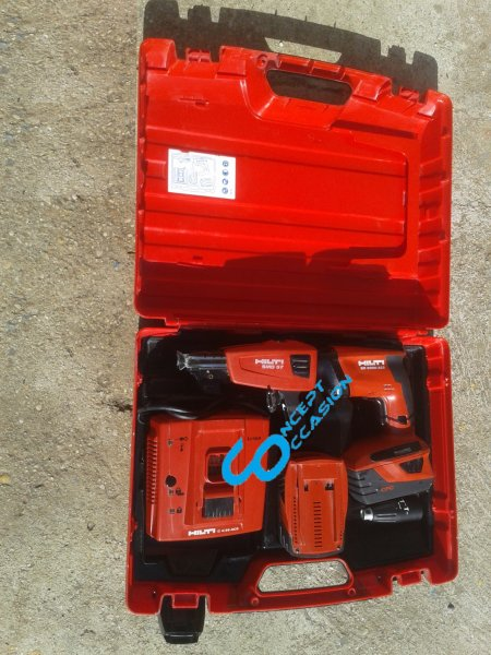Visseuse plaquiste sans fil SD 5000-A- Hilti France